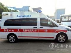 江苏奔驰救护车收车了