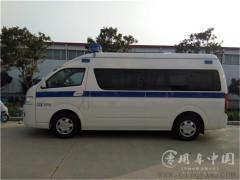 成功签定福田G9 120救护车购车合同