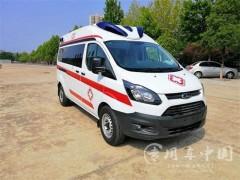 福特V362救护车评测