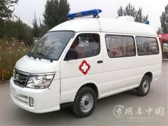 金杯海狮负压救护车搭载丰田2.4L汽油发动机评测