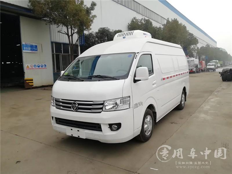 国六福田风景G9冷藏车图片1