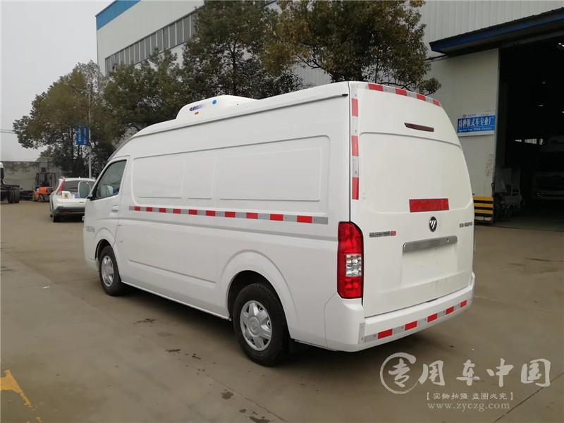 国六福田风景G9冷藏车图片2