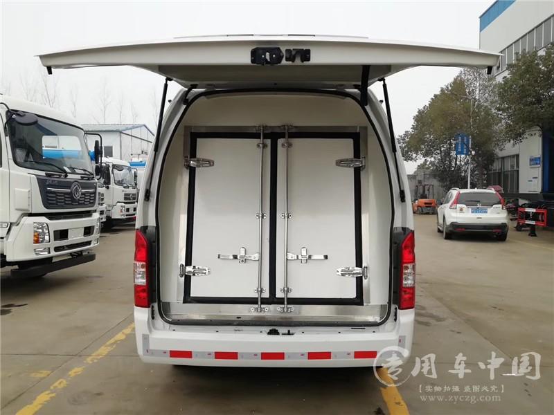国六福田风景G9冷藏车图片3
