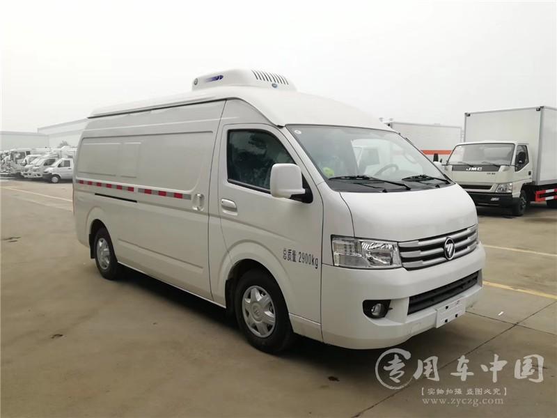 国六福田风景G9冷藏车图片5