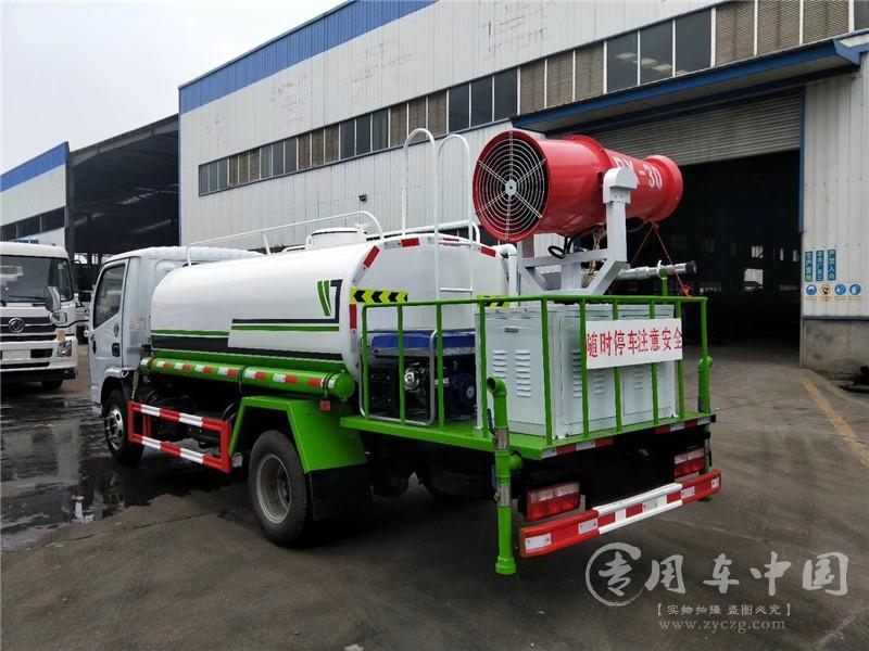 东风5方防役消毒洒水车图片