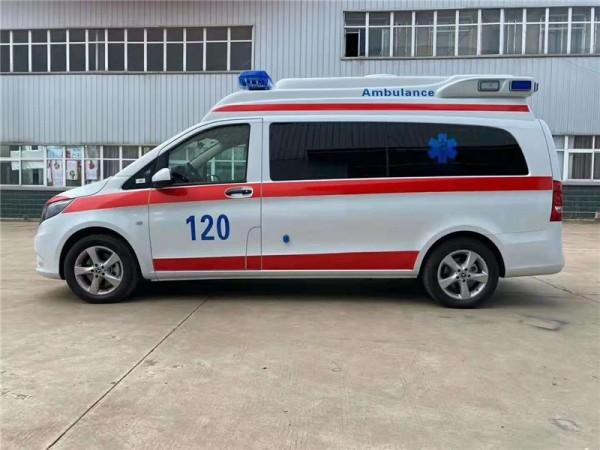 内蒙古120奔驰救护车8