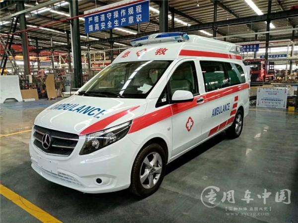 安徽120奔驰救护车8台