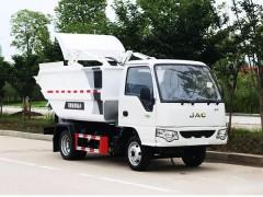 江淮康铃高位自装卸式垃圾车评测:
