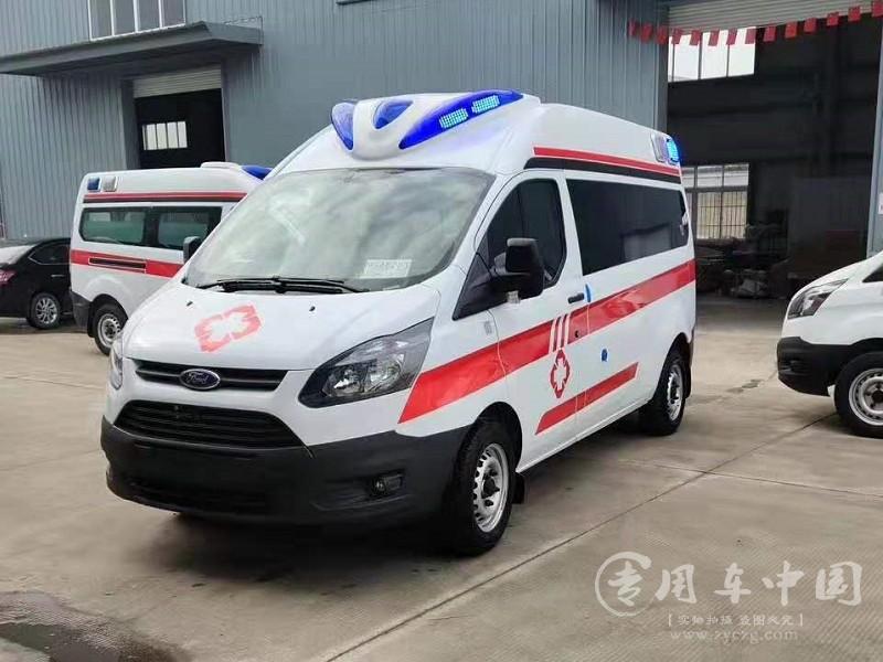 福特全顺监护型救护车图片2