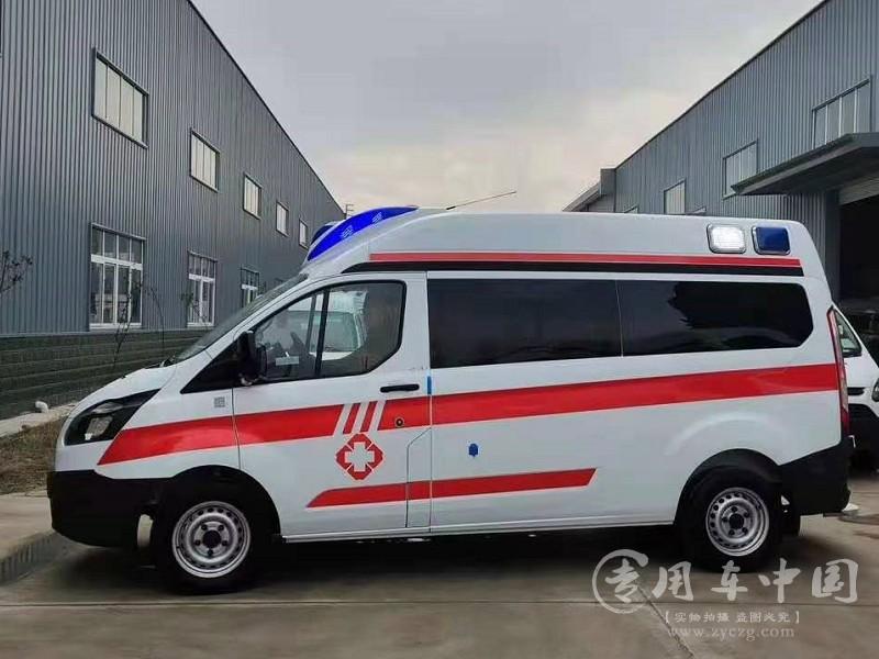 福特全顺监护型救护车图片1