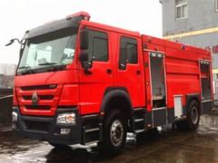 8吨水罐消防车