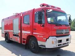 干粉泡沫消防车