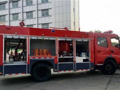 东风干粉泡沫消防车