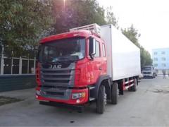 江淮格尔发9.6米冷藏车准备发车|冷藏车提车