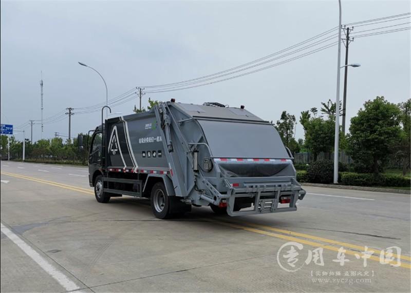 凯普特9方压缩式垃圾车图片5
