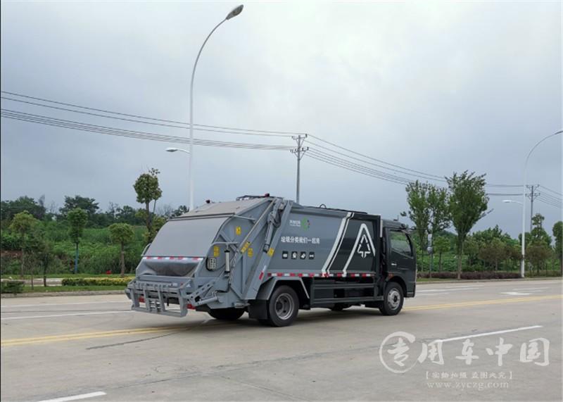 凯普特9方压缩式垃圾车图片6