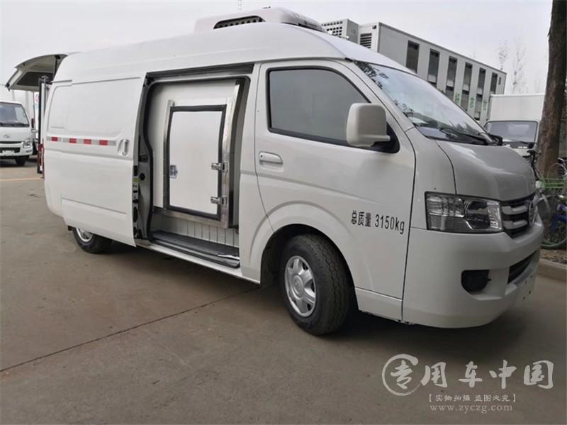 福田G7面包冷藏车图片1