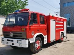东风泡沫干粉联用消防车