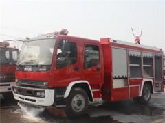 五十铃泡沫干粉联用消防车