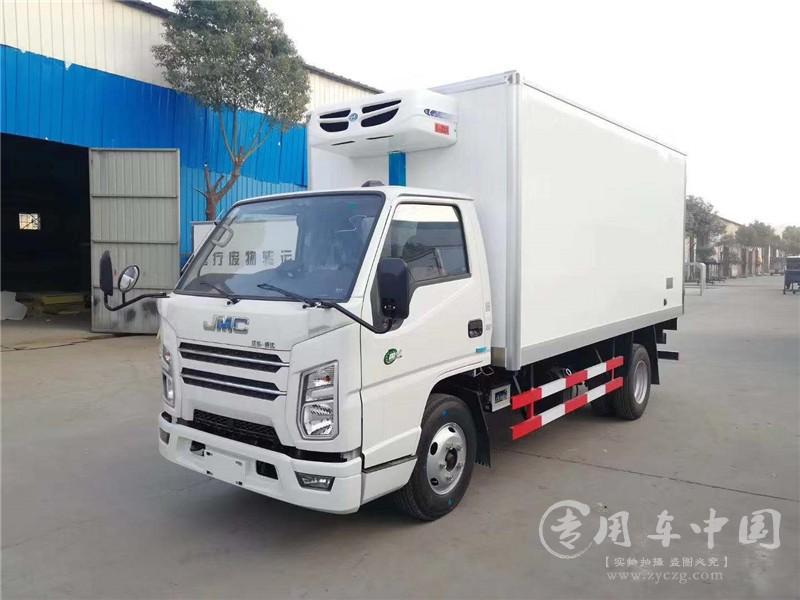国六江铃顺达4.2冷藏车图片