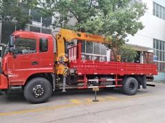 前四后八16吨三一随车吊评测