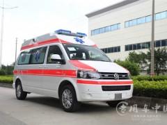 配备高动力发动机之大众救护车动态 进口大众救护车