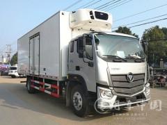 福特欧马可6米1冷藏车动态|6.1米冷藏车