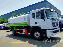 多利卡D9 15吨洒水车动态|绿化喷洒车