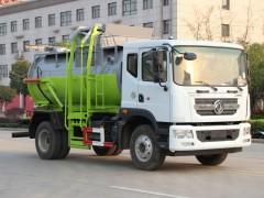 多利卡D9 8吨餐厨垃圾车评测