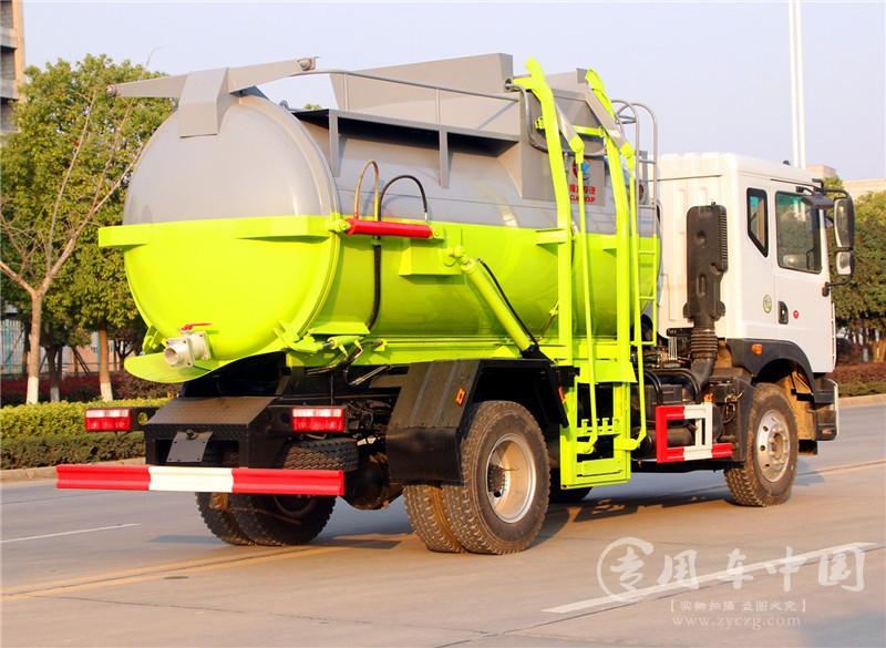 多利卡D9 8吨餐厨垃圾车图片3