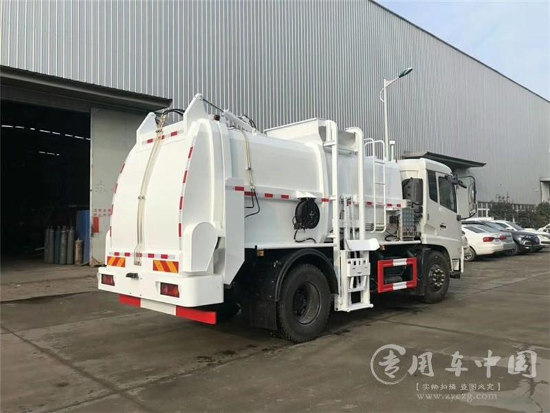天锦10吨餐厨垃圾车图片3