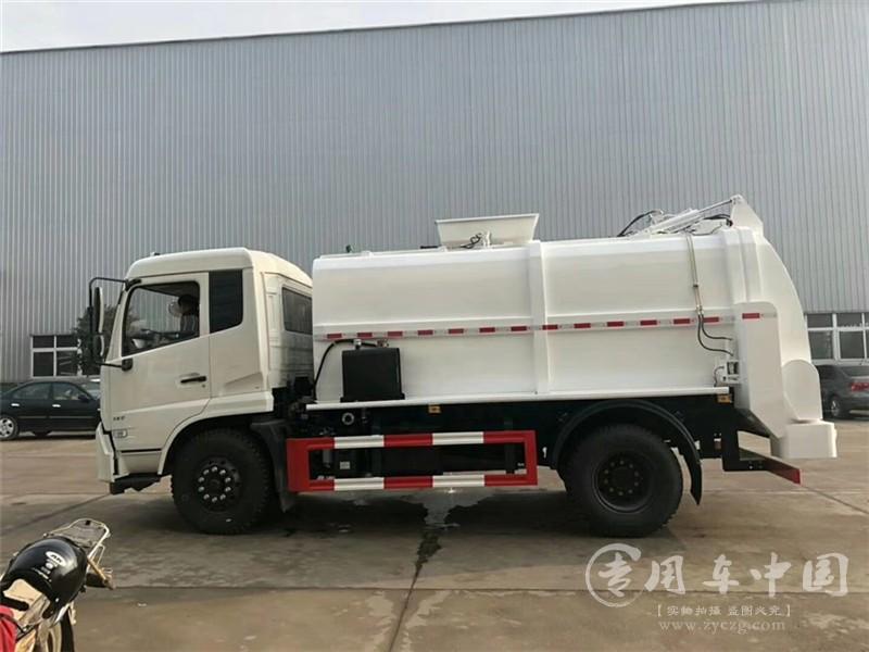 天锦10吨餐厨垃圾车图片4