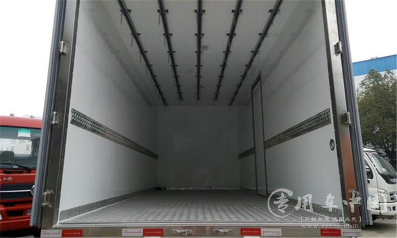 天锦小三轴冷藏车图片7