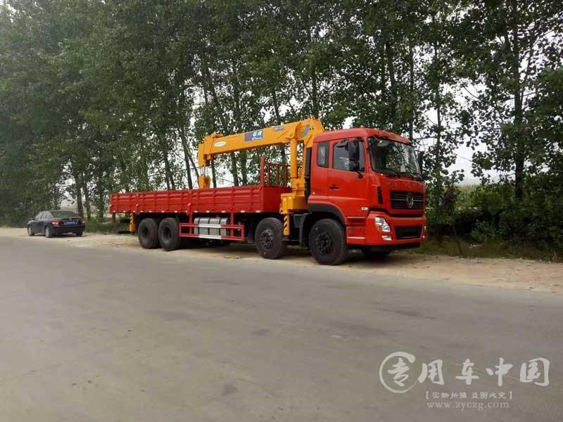 天龙前四后八16吨石煤随车吊图片3
