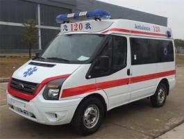 V348短轴中顶福特救护车