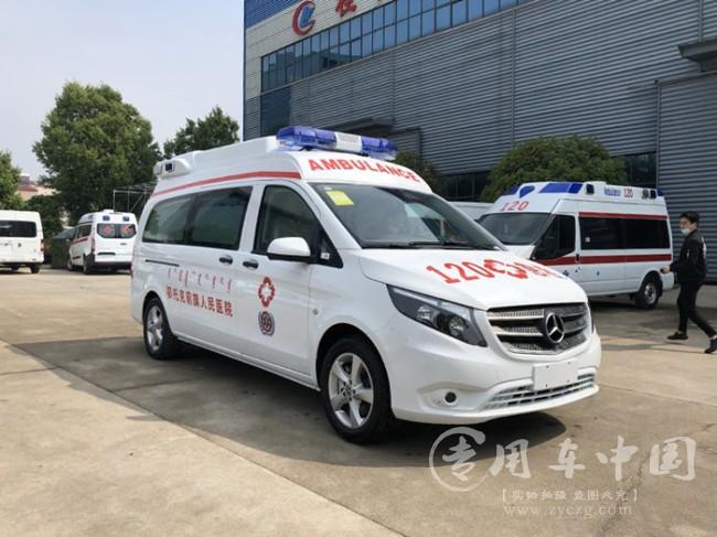 奔驰威霆救护车图片