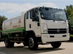凯马国六10吨绿化洒水车动态
