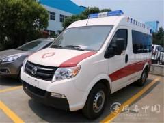 8台东风救护车顺利交车|东风负压救护车提车