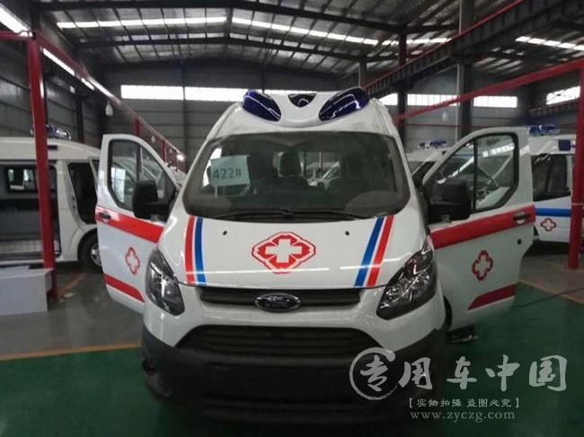 江铃福特V362监护救护车图片
