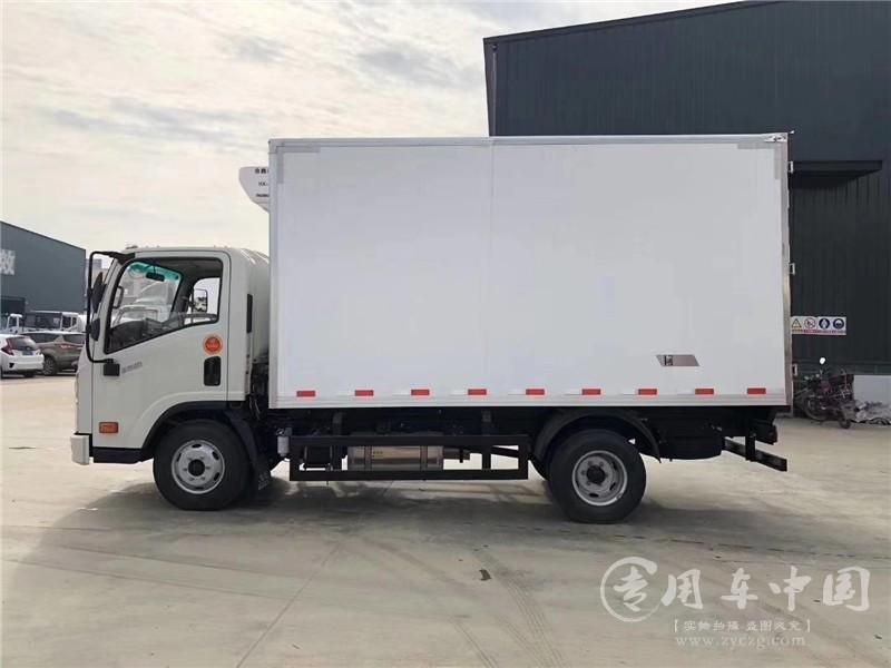 大运4米程力冷藏车图片