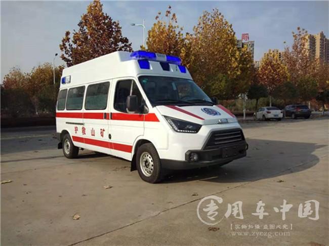 江铃特顺矿山救护车