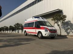 江铃福特新时代V348长轴高顶救护车