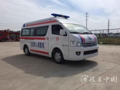 福田风景G9救护车整车参数|福田救护车动态