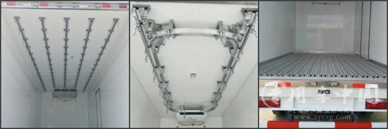 解放小三轴8..7米冷藏车图片7