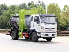 东风专底10方餐厨垃圾车发车了|餐厨垃圾车顺利提车