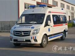 5台福田救护车发车 福田负压救护车提车