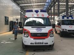 全顺救护车高端救护车的经典代表 救护车动态