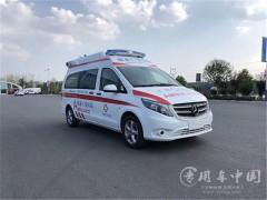 10台奔驰传染病用负压救护车发车 奔驰救护车提车成功