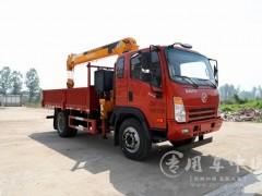 国六工程车型选择大运5吨随车吊 程力随车吊