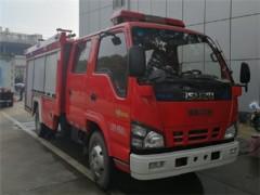水罐119消防车